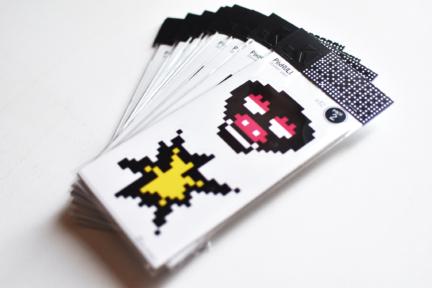 PixKULL sticker pack