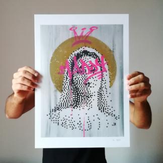 Maddy digital print